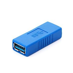 ieftine USB-uri-USB 3.0 nou un tip de femeie la conectorul de cuplare feminin adaptor extender albastru
