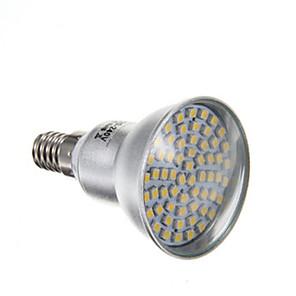 4 W LED-spotpærer 2800 lm E14 PAR38 60 LED perler SMD 3528 Varm hvit 220-240 V