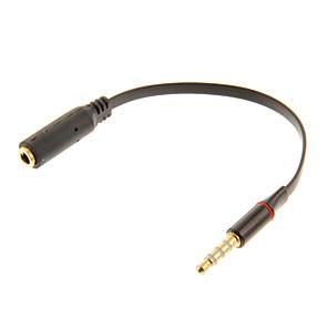 ieftine USB-uri-0,12 0.4ft audio de 3.5mm de sex masculin la 3.5mm cablu de sex feminin