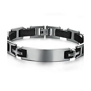 ieftine Brățări Bărbătești-z&X® bratari titan personalitate de moda tendință brățară de silicon pentru bărbați