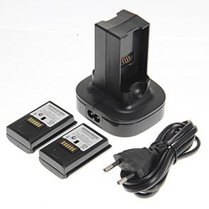 ราคาถูก อุปกรณสำหรับ Xbox 360-แบตเตอรี่และที่ชาร์จ สำหรับ Xbox 360 ,  แบตเตอรี่และที่ชาร์จ พลาสติก หน่วย