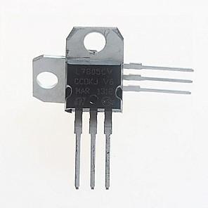 ieftine Accesorii-L7805CV regulator de tensiune 5V / 1.5A la-220 (5pcs)
