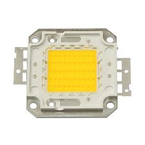 ieftine LED-uri-zdm diy 50w 4500-5500lm cald alb 3000-3500k lumină modul integrat led (dc33-35v 1.5a) lampă stradală pentru proiectarea sudură de aur ușor de sârmă de suport de cupru