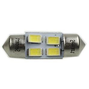 ieftine Becuri De Mașină LED-Festoon Mașină 2 W SMD 5730 >8000 k Lumini de citit