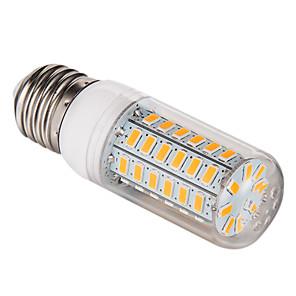 ieftine Becuri LED Corn-1 buc 5 W 450 lm E26 / E27 Becuri LED Corn T 56 LED-uri de margele SMD 5730 Alb Cald / Alb Rece 220-240 V