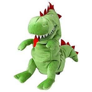ieftine Păpuși-12 inch dragon mănuși de păpuși animal umplute jucărie de pluș