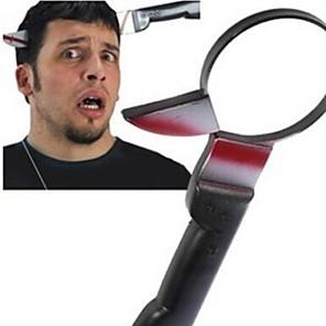 billige Praktiske Joke Gadgets-gennem hoved kniv tricky legetøj joke gadgets forskrække folk sjove legetøj