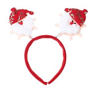 ieftine Pălărie-alb& roșu& portocaliu Crăciun decoratiuni cap cataramă
