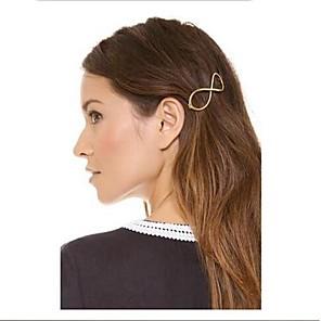ieftine Bijuterii de Păr-Pentru femei Barete Pentru Zilnic Casual Aliaj Auriu