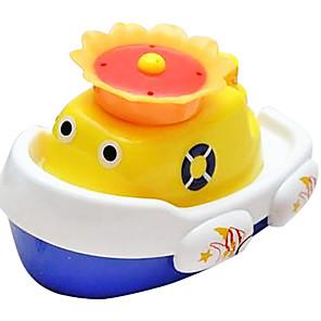 ieftine Benzi Lumină LED-Forma barcă stropi de apă auto spray pentru baie pentru copii jucării float