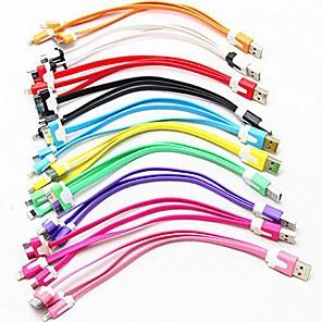 olcso Android-Micro USB 2.0 / All-In-1 / USB 2.0 Kábel Szabályos TPU USB kábeladapter Kompatibilitás