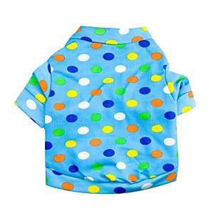 ieftine Cagule și măști pentru față-Pisici Câine Tricou Îmbrăcăminte Câini Costume Terilenă XS S M L