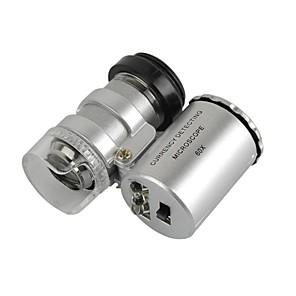 ieftine Lupe-universal obiectiv 60x microscop stabilite pentru iPhone / iPad / Samsung / HTC + mai multe telefoane mobile / tablet pc