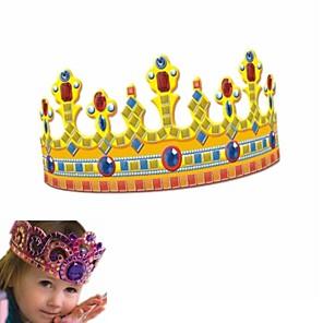 ieftine Carcase iPhone-coroana regală mozaicuri cleioase de asamblare blocuri jucărie