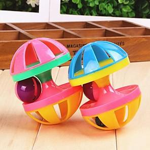 ieftine Jucării-Interactiv Jucării chițcăitoare Jucărie Pisică Jucării Cățel Animale de Companie  Jucarii Sonerie Halteră Plastic Cadou