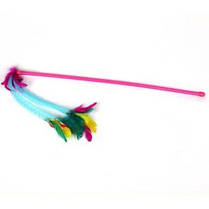ieftine Jucării Câini-Stilul pană plastic adorabil tije pisica tijă (1buc, roz)