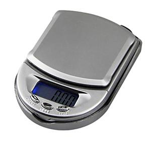 ราคาถูก การวัดและเครื่องชั่ง-มินิพ็อกเก็ตเครื่องประดับขนาดห้องครัวดิจิตอลจอแอลซีดี 500 กรัม 0.1 กรัม