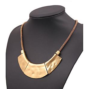 ieftine Colier la Modă-Pentru femei Coliere femei European Negru Argintiu Roz auriu Coliere Bijuterii Pentru Petrecere