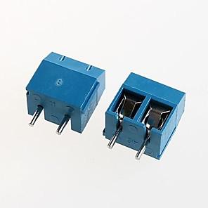 ieftine Conectoare & Terminale-bloc terminal kf301-2p de alimentare 300v16a 5.08mm (10pcs)