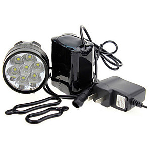 ieftine Lanterne de Mână-LED Lumini de Bicicletă Iluminat Bicicletă Spate lumini de securitate Cree® XM-L T6 Ciclism montan Bicicletă Ciclism Rezistent la apă Portabil Atenţie Ușor de Instalat 18650 7000 lm Baterie