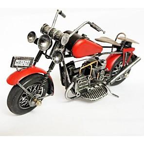 ieftine Câini Articole şi Îngrijire-fier roșu articole de mobilier model de culoare motocicletă artizanat (de culoare imagine)