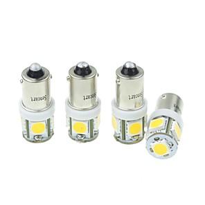 ieftine Car Signal Lights-Becuri de iluminat ba9s led smd / led de înaltă performanță, 160-180 lm, semnal luminos pentru universal