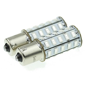 ieftine Becuri De Mașină LED-1156 20W 36x5730smd de culoare galben deschis 800-1200lm condus bec pentru lampă rândul său, masina (o pereche / ac12-16v)