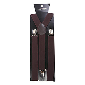 hesapli Kol Düğmeleri-Askı Katı Klasik Broş Mücevher Kahverengi Uyumluluk Parti İş / Seramoni/ Düğün