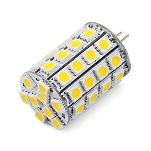 ieftine Camere IP-1 buc 4.5 W Spoturi LED 452 lm G4 49 LED-uri de margele SMD 5050 Decorativ Alb Cald Alb Rece 12 V 24 V / RoHs