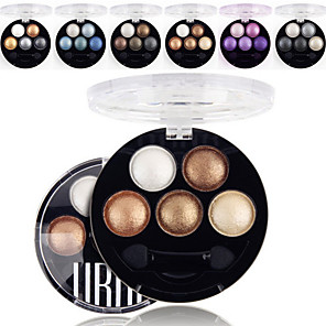 cheap Makeup-6 Colors Eyeshadow Palette Powders Matte Shimmer Eye Matte Shimmer Glitter Shine smoky Daily Makeup Smokey Makeup Cosmetic Gift