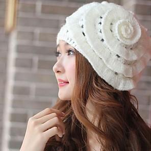 levne Ozdoby do vlasů-dámská móda sladký pletení květina klobouk