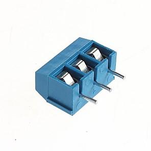 ieftine Întrerupătoare-PCB 3 pini terminale cu șurub 5.08mm - 300V / 16a (10 buc)