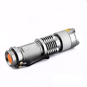 ieftine lanterne-LS005 Lanterne LED LED 300lm 1 Mod Zbor Zoomable / Mini / Focalizare Ajustabilă Camping / Cățărare / Speologie / Utilizare Zilnică /