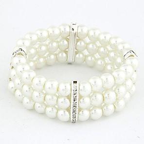 ieftine Coliere-Pentru femei Alb Componentă Aliaj Bijuterii brățară Auriu / Argintiu Pentru Cadouri de Crăciun Zilnic