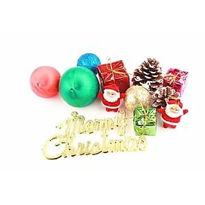 ieftine Costume Moș-Christmas Decorations Ornamente de Brad de Crăciun Drăguț Plastic Băieți Fete Jucarii Cadou 12 pcs