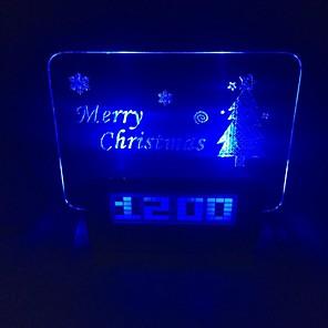 ieftine Brățări-Ceas de creație Crăciun 0.5W 5V 2-a condus g / 1-la-4 hub - alb