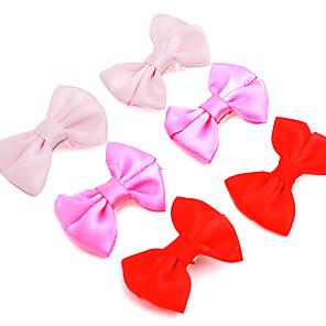 ieftine Gadget-uri De Glume-Pisici Câine Accesorii Păr Îmbrăcăminte Câini Rosu Roz Trandafiriu Costume Terilenă stil minimalist