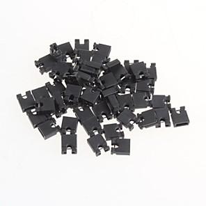 ieftine Motoare & Părți-săritor pas 2.54mm scurtcircuitat capac scurtcircuitat capac bloc pini (50 buc)
