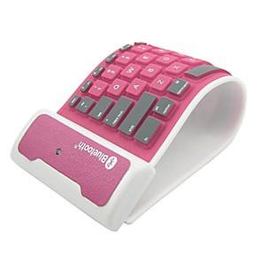 ieftine Tastaturi iPad-pliant tastatură silicon Bluetooth pentru iPad și alte (Color asortate)