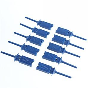 ieftine Conectoare & Terminale-încercare clip cârlig clipuri de test analizor logic cârlig de cabluri (10pcs)