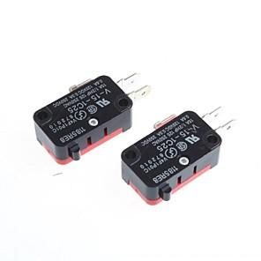 ieftine Conectoare & Terminale-micro comutator off-on pentru electronice DIY (2 buc)