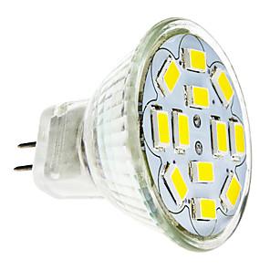 ieftine Spoturi LED-2 W Spoturi LED 240-260 lm GU4(MR11) 12 LED-uri de margele SMD 5730 Alb Cald Alb Rece 12 V