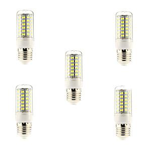 povoljno LED klipaste žarulje-5pcs 5 W LED klipaste žarulje 600 lm E26 / E27 69 LED zrnca SMD 5730 Prirodno bijelo 220-240 V / 5 kom.