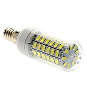 ieftine Becuri LED Glob-1 buc 5 W 450 lm E14 Becuri LED Corn T 69 LED-uri de margele SMD 5730 Alb Natural 220-240 V