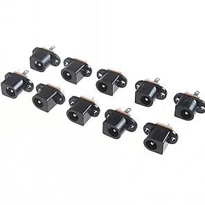 ieftine Conectoare & Terminale-dc017 5.5mm - 2.1mm interior conector jack diametru dc (10 bucati un pachet)