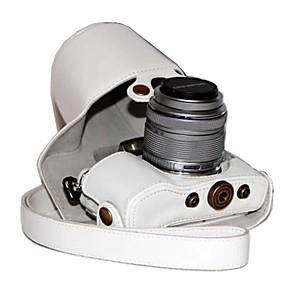 ieftine Carcase, Genți & Curele-dengpin® PU aparat de fotografiat din piele caz acoperire sac pentru stilou e-olympus PL7 epl7 cu 17mm sau lentile de 14-42mm