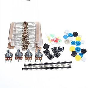 ieftine Tranzistori-resisters carbon universal + Piese potențiometre rotative stabilite pentru Arduino