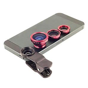 ieftine Stick Tripod Selfie-Metal Lentile Fish-Eye Lentile cu Unghi Larg 1X Lentile cu Stativ Universal