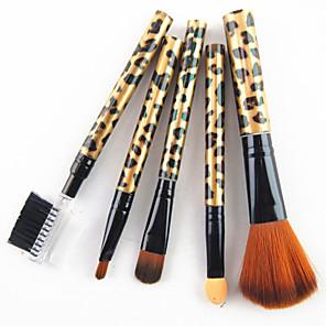 ieftine Produse Fard-Profesional Machiaj perii Seturi perie 5pcs Profesional Păr sintetic Plastic Pensule de Machiaj pentru