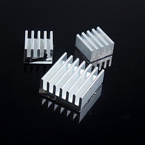 ieftine LED-uri-zmeură radiator pi (3pcs)